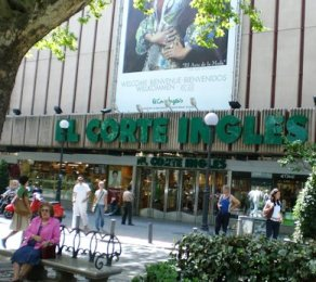 """El Corte Ingles"" -- which translates to ""The Exorbitantly Priced"""